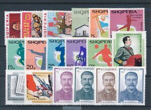 [34630] Albania Good lot Very Fine MNH stamps