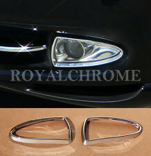 AU STOCK 2X CHROME Fog Light Trims for Jaguar XJ X350 03-07 S-Type Pre-LCI 98-02