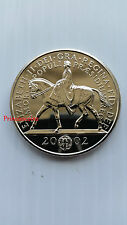 2002*UNC*UK GOLDEN JUBILEE £5 FIVE POUND COIN-KM#1024