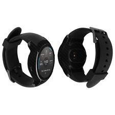 Skinomi Black Carbon Fiber Skin+Clear Screen Protector for LG Watch Sport