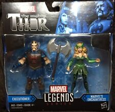Marvel Legends Series The Mighty Thor Executioner and Marvel's Enchantress