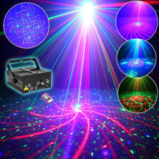 Starmate 5 Lens RGB 80 Patterns Projector Laser Stage Light BLUE LED Home Party