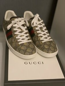 Genuine Gucci Ace Bee Supreme Sneakers Trainers Shoes 38 UK Size 5 Fit 6