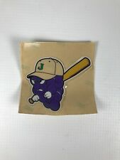 MILB Jamestown Jammers Helmet Decal Sticker