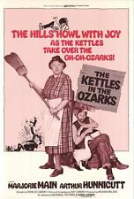 THE KETTLES IN THE OZARKS Movie POSTER 27x40 Marjorie Main Arthur Hunnicutt Ted