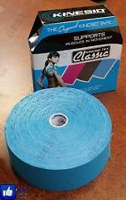 """Classic Kinesio Tex, Blue 2"""" bulk Athletic Kinesiology Muscle Joint Support Tape"""