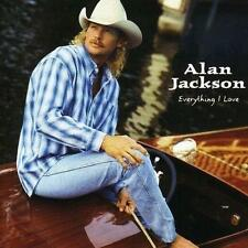 ALAN JACKSON (EVERYTHING I LOVE CD - SEALED + FREE POST)