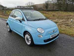 IMMACULATE 2013 FIAT 500 COLOUR CREATION CONVERTIBLE WITH GREAT SPEC