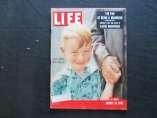 1955 AUGUST 29 LIFE MAGAZINE - BILLY CONNOR WITH GRANDFATHER - L 970