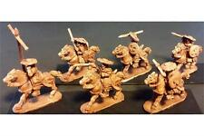 15mm Fantasy Stygian Cavalry with Throwing Spears, Bows,Shields, Horse (8 figs)