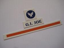 G.I. Joe Helicopter/ Scramble Helmet Water Slides - B2G1F