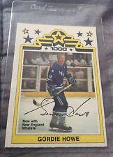 1977-78 O-Pee-Chee WHA Houston Aeros Gordie Howe Card