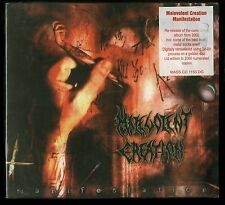 Malevolent Creation Manifestation Limited Edition Numbered Golden Disc CD new