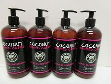 4 RENPURE PROFESSIONAL COCONUT WHIPPED CREME LEAVE-IN CONDITIONER 16OZEA MM 9069