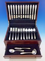 Virginian by Oneida Sterling Silver Flatware Service for 12 Set 51 Pieces