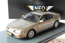 HONDA PRELUDE MKIV 1992 BEIGE METAL NEO 44507 1/43 METALLIC LHD LEFT HAND DRIVE