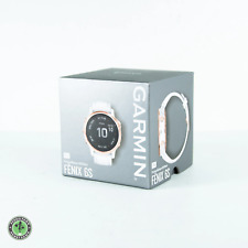 Garmin Fenix 6S Pro Watch 42mm Rose Gold-Tone W/ White Band