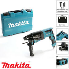 Makita HR2630 SDS Rotary Hammer Drill 3 Mode 26mm 240v With Carry Case