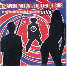 CD CARTONNE CARDSLEEVE PILLS 2T CHAPEAU MELON ET BOTTES DE CUIR SERIE TV NEUF