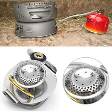 Portable Stainless Steel Propane Gas Stove Split Type Burner For Outdoor Camping
