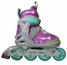 Athena Girls Outdoor/Indoor Adjustable Inline Skates 2-5 🇺🇸