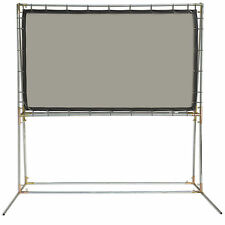 Carl's Rear Projection Film, 16:9, 5x9, FreeStanding Projector Screen Kit, Gray