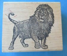 AFRICAN LION Rubber Stamp STAMP FRANCISCO