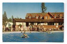 Big Bear Lake CA Peter Pan Club Postcard 1955