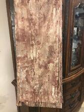 "CROSCILL Pole Top Drapes Curtains Pair= 2 Panels 45"" x 84"" Metallic Thread"