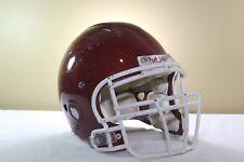Riddell Adult Game Used Worn Revolution Football Helmet Medium Met Cardinal 106