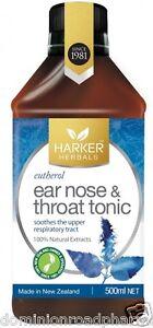 Malcolm Harker Eutherol ear nose & throat tonic 500 ml
