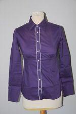 7 CAMICIE - Chemise Femme stretch- Violet - S neuf avec défauts