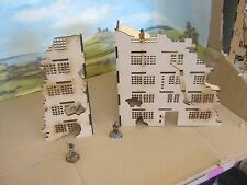 28mm Large Wargame Ruins set B Factory  House Scenery Buildings Bolt Action 40K