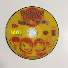 Cooking Mama World Kitchen Wii Great Condition (Loose)