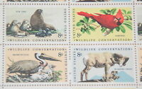 1972 sheet, Wildlife Conservation Sc # 1464-7