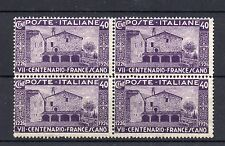 1926 REGNO SAN FRANCESCO 40 CENTESIMI IN QUARTINA B 04192