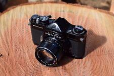 Pentax Spotmatic Black W/55mm f1.8 Super Takumar Lens