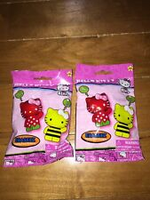 NIP HELLO KITTY ERASEEZ COLLECTIBLE ERASERS 2 PACKS OF 2 BLIND BAGS