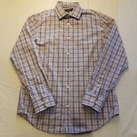 Mens Banana Republic Size M Slim Fit Long Sleeve Shirt Button Collared - SE14