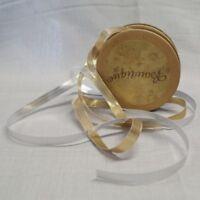 Bowtique Vintage Metallic Nylon Shimmer Ribbon 7mm x 5m Reel