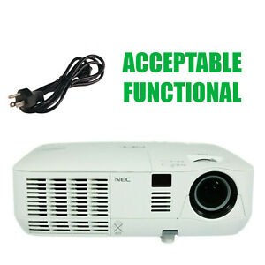 NEC NP-V311X V311X DLP Projector - Acceptable Functional w/Power Cord