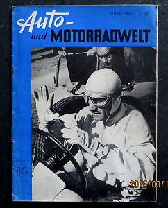 Auto- und Motorradwelt 14/51 Rund um Schotten, Alfa Romeo Typ 160/ Ferrari 375/2