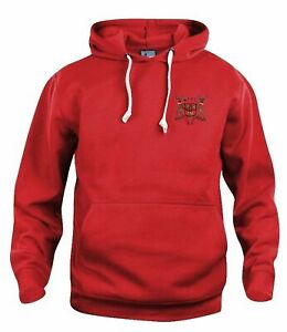 Nottingham Forest 1960-1970s Retro Football Hoodie Embroidered Crest S-XXXL