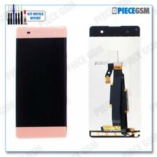 ECRAN LCD + VITRE TACTILE pour SONY XPERIA XA et F3111 ROSE + outils + colle b70