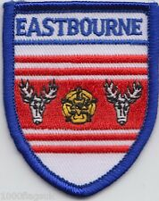 Eastbourne East Sussex Flag Embroidered Patch Badge
