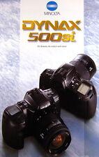 Minolta Dynax 500si Prospekt brochure - (0354)