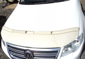 Steinschlagschutz Bra Haubenbra VW Passat CC Motorhaubenschutz beige