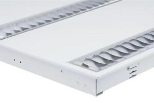 Philips Twin 14w Fluorescent Tube Grid Ceiling Recessed Light Emergency Fitting