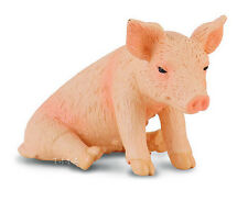 FREE SHIPPING | CollectA 88345 Piglet Sitting Realistic Farm Pig- New in Package