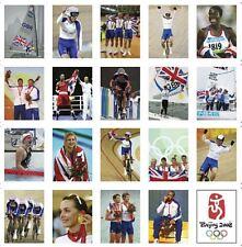 Beijing Olympic Games Team GB Trading Card Set FREE UK POSTAGE